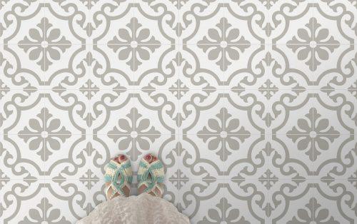 1,8 m2 på lager – Bilbao 54-M © hvit/grå