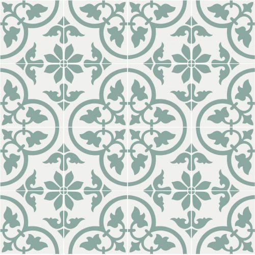 Italy #28 hvit/grønn (Prøveflis)